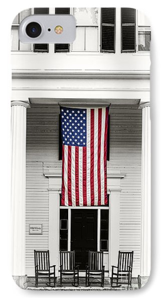 Old Glory Est. 1776 IPhone Case by Edward Fielding