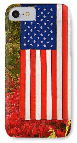 Old Glory Phone Case by Ron Roberts