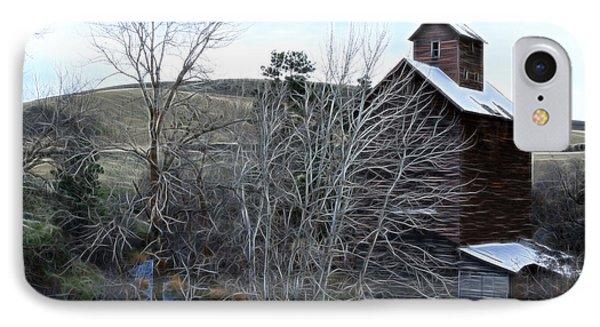 Old Grain Barn Phone Case by Steve McKinzie