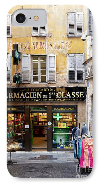 Old Grasse IPhone Case by Juergen Klust