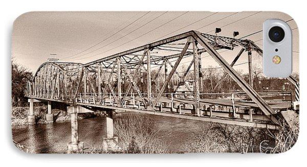 Old Gravois Bridge IPhone Case by Robert FERD Frank