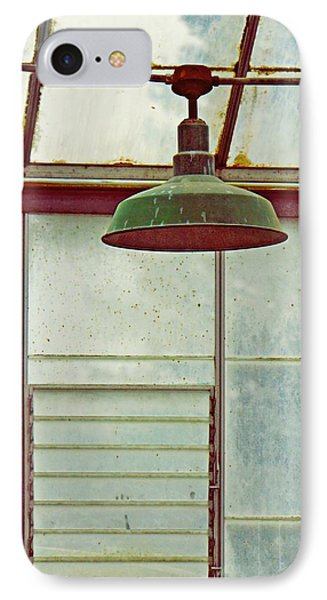 Old Green Lamp IPhone Case by Patricia Strand