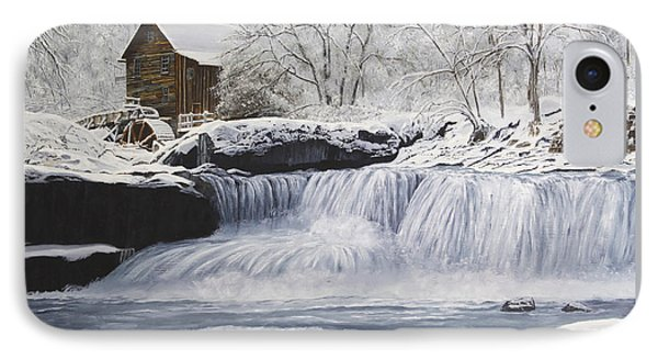 Old Grist Mill Phone Case by Johanna Lerwick