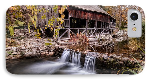 Old Grist Mill - Macedonia Connecticut  Phone Case by Thomas Schoeller