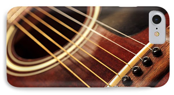 Old Guitar IPhone Case by Elena Elisseeva