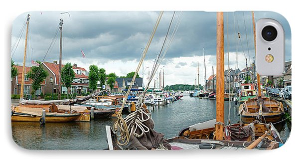 Old Harbor IPhone Case by Hans Engbers