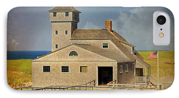 Old Harbor Lifesaving Station On Cape Cod IPhone Case by Stephen Stookey
