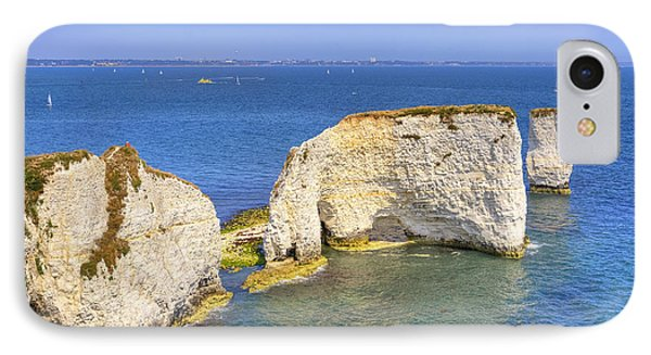 Old Harry Rocks - Purbeck Phone Case by Joana Kruse