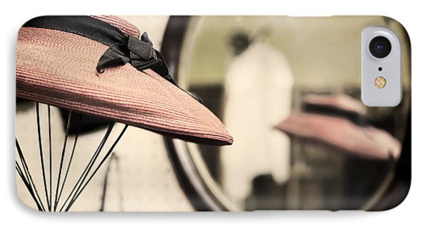 Old Hat Phone Case by Heather Applegate