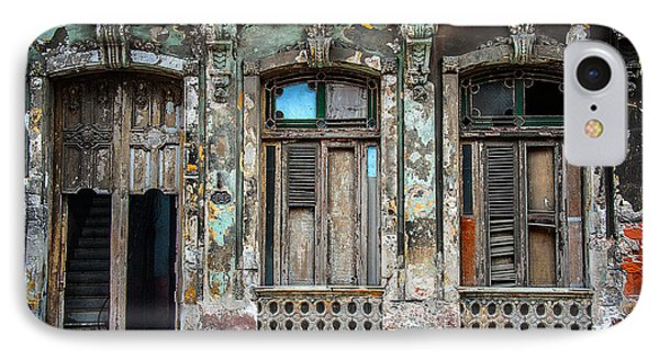 Old Havana House IPhone Case by Patrick Boening