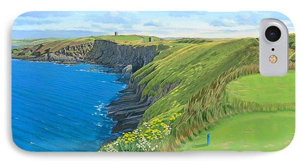 Old Head Golf Club Ireland IPhone Case by Tim Gilliland