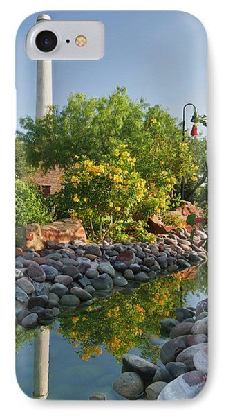 Old Hidalgo Pumphouse And Birding IPhone Case by Larry Ditto