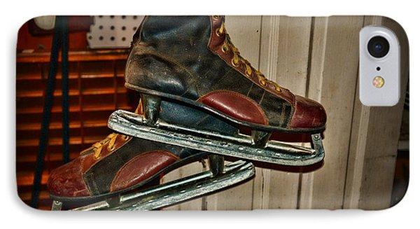 Old Hockey Skates IPhone Case