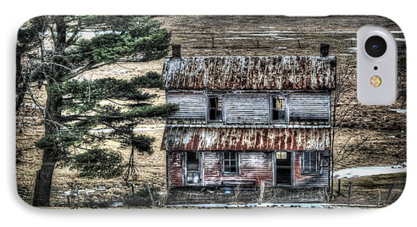 Old Home Place With Birds In Front Yard Phone Case by Dan Friend
