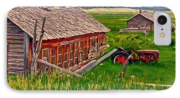 Old Homestead Near Townsend Montana Phone Case by Michael Pickett