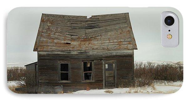 Old Homestead North Dakota Phone Case by Jeff Swan
