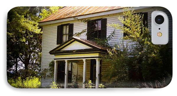 Old House By The River IPhone Case by Joyce Kimble Smith