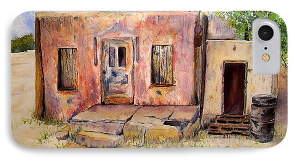 Old House In Clovis Nm IPhone Case by Vicki  Housel