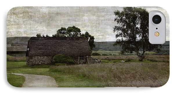 Old House In Culloden Battlefield Phone Case by RicardMN Photography