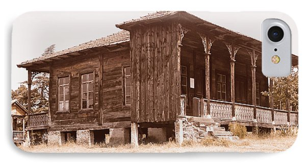 Old House IPhone Case by Lali Kacharava