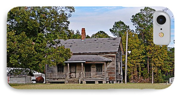 IPhone Case featuring the photograph Old House by Linda Brown