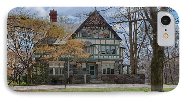 Old House On Haverford Campus IPhone Case