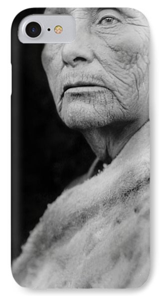 Old Hupa Woman Circa 1923 IPhone Case