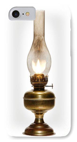 Old Hurricane Lamp IPhone Case