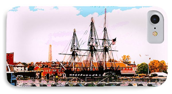 Old Ironsides IPhone Case