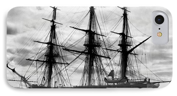 Old Ironsides In Puget Sound IPhone Case