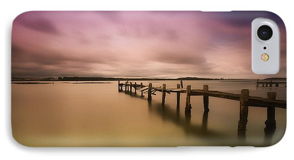 IPhone Case featuring the photograph Old Jetty 01 by Kevin Chippindall