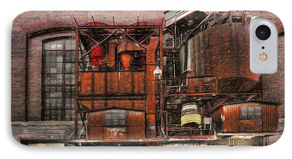 Old Kansas City Factory Building  IPhone Case by Liane Wright