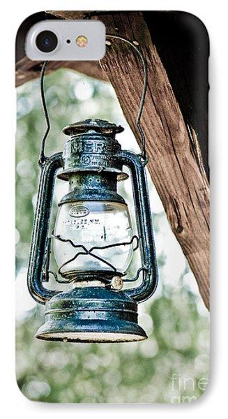 Old Kerosene Lantern. IPhone Case