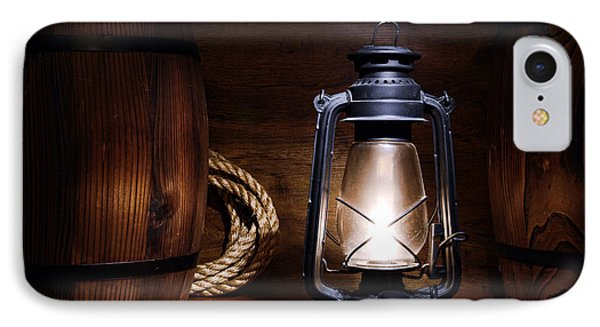 Old Kerosene Lantern Phone Case by Olivier Le Queinec