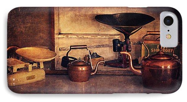 Old Kitchen Utensils IPhone Case by Maria Angelica Maira