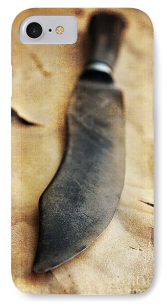 Old Knife IPhone Case by Carlos Caetano