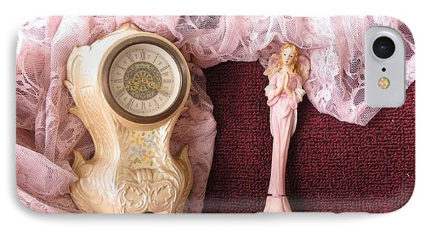 Old Lace And Time IPhone Case by Fortunate Findings Shirley Dickerson