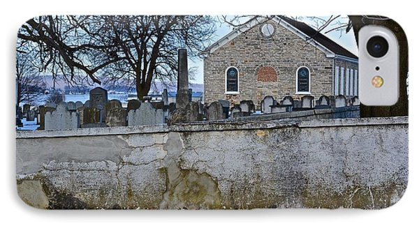 Old Leacock Presbyterian Church And Cemetery IPhone Case