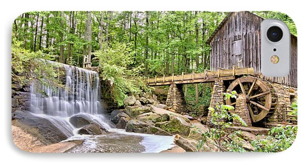 Old Lefler Grist Mill IPhone Case