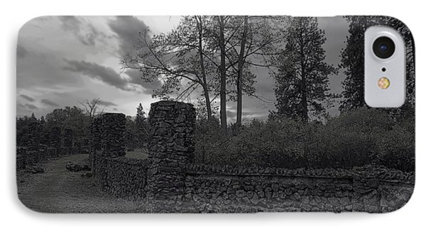 Old Liberty Park Ruins In Spokane Washington Phone Case by Daniel Hagerman