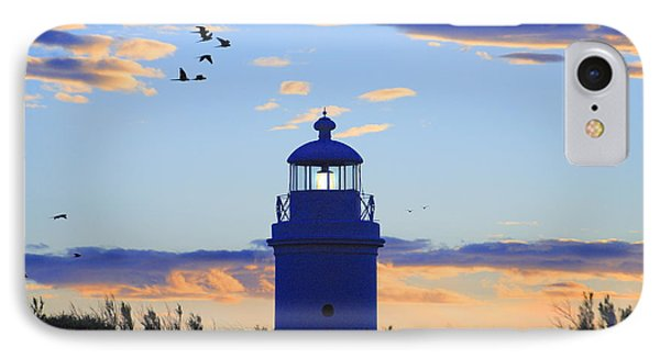 Old Lighthouse IPhone Case by Bernardo Galmarini