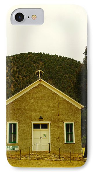 Old Lincoln City Church Phone Case by Jeff Swan