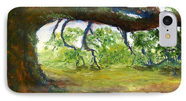 Old Louisiana Plantation Oak Tree Phone Case by Lenora  De Lude