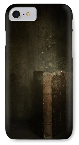 IPhone Case featuring the photograph Old Magic Book by Ethiriel  Photography
