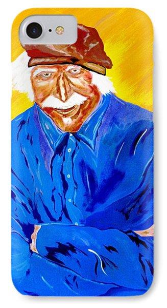 Old Man Hawk-artist Rendition IPhone Case by Bill Manson