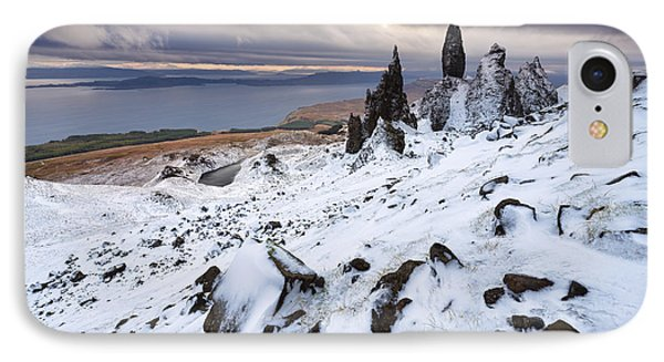Old Man Of Storr IPhone Case by Rod McLean