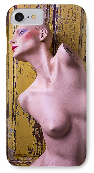Old Mannequin IPhone Case by Garry Gay