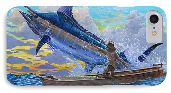 Old Man And The Sea Off00133 IPhone Case by Carey Chen