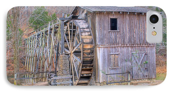 Old Mill Water Wheel And Sluce Phone Case by Douglas Barnett