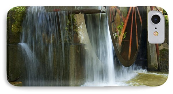 Old Mill Water Wheel Phone Case by Paul W Faust -  Impressions of Light